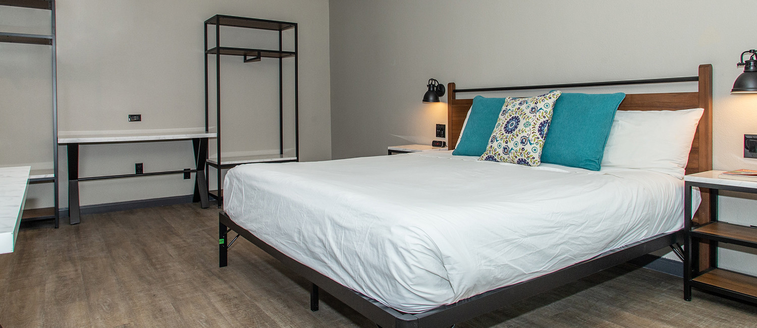Guest Rooms Designed For Relaxation